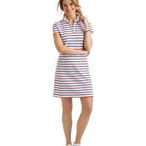 Vineyard Vines Stripe Pique Polo Dress